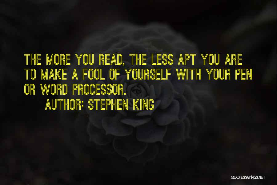 Read More Quotes By Stephen King