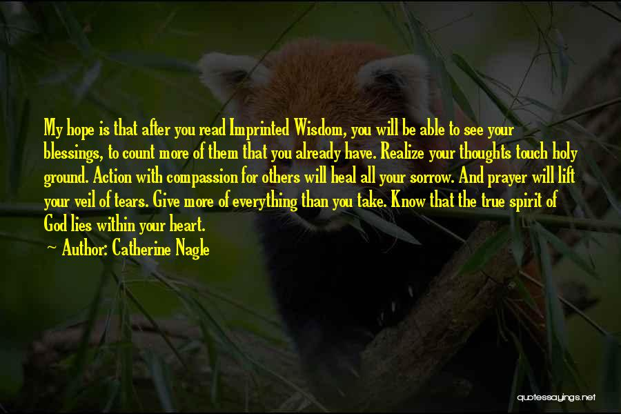 Read More See More Quotes By Catherine Nagle