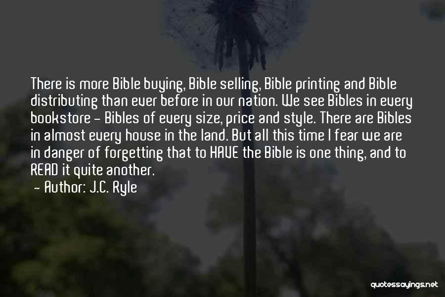 Read More See More Quotes By J.C. Ryle