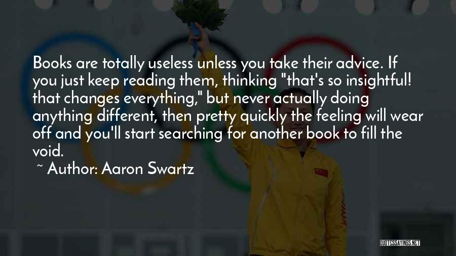 Reading A Book Funny Quotes By Aaron Swartz