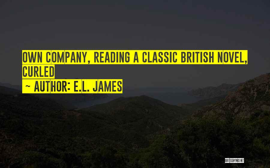 Reading A Novel Quotes By E.L. James