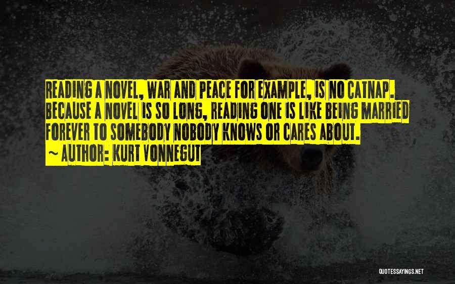 Reading A Novel Quotes By Kurt Vonnegut