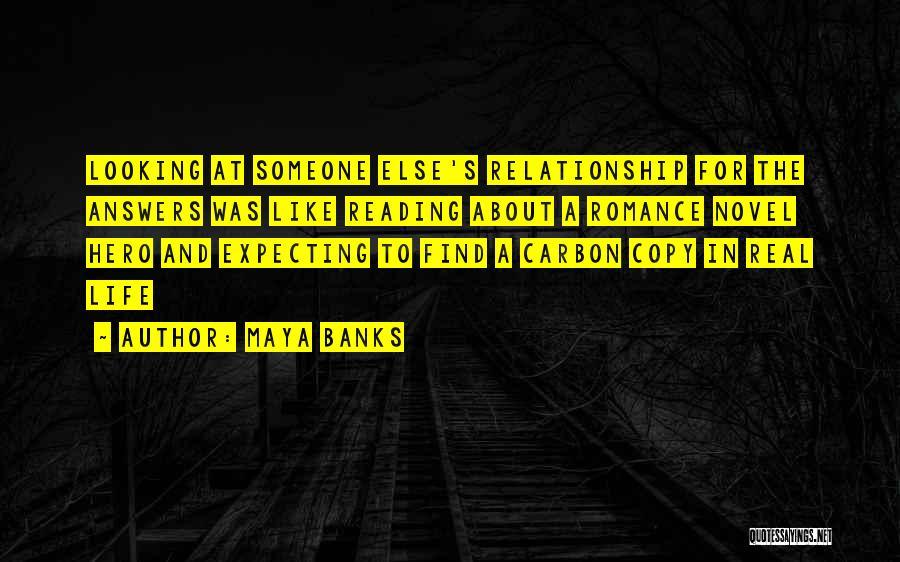 Reading A Novel Quotes By Maya Banks
