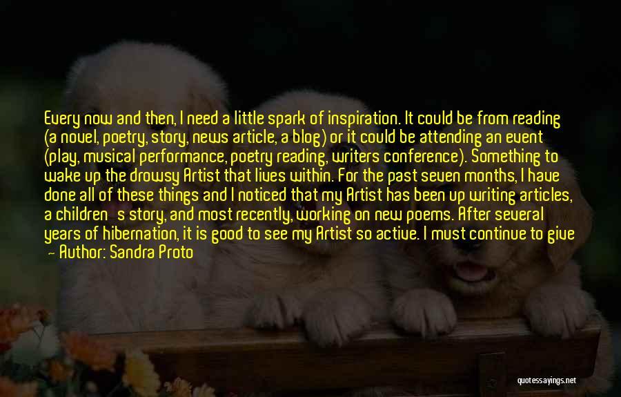 Reading A Novel Quotes By Sandra Proto