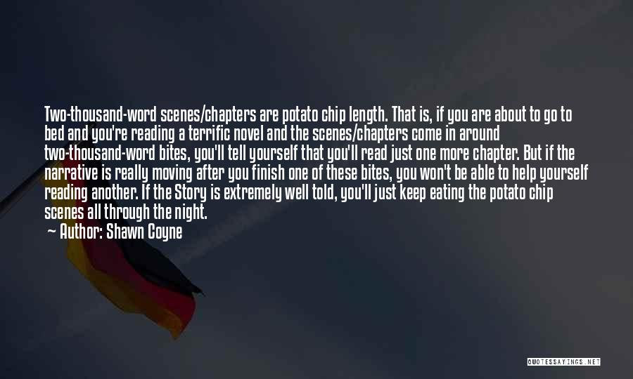 Reading A Novel Quotes By Shawn Coyne