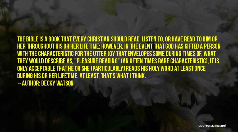 Reading For Pleasure Quotes By Becky Watson