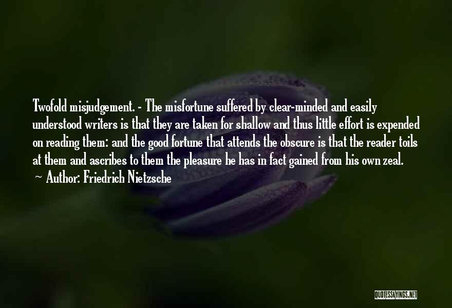 Reading For Pleasure Quotes By Friedrich Nietzsche