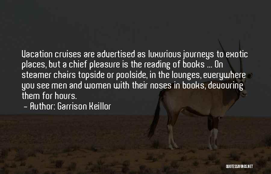 Reading For Pleasure Quotes By Garrison Keillor