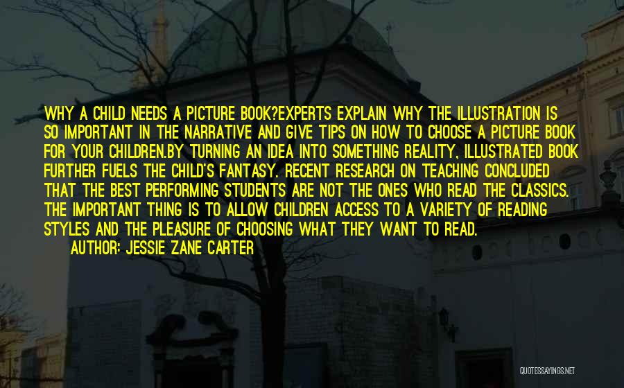 Reading For Pleasure Quotes By Jessie Zane Carter