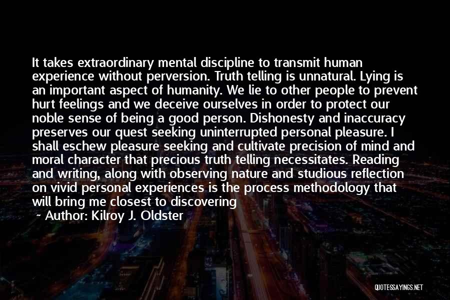 Reading For Pleasure Quotes By Kilroy J. Oldster