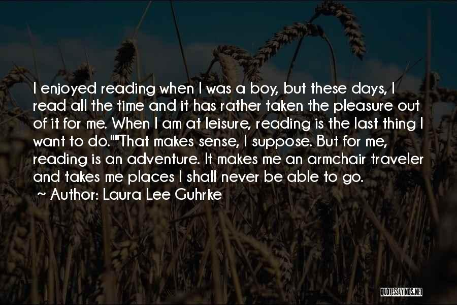Reading For Pleasure Quotes By Laura Lee Guhrke