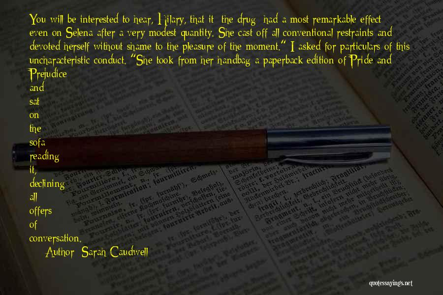 Reading For Pleasure Quotes By Sarah Caudwell