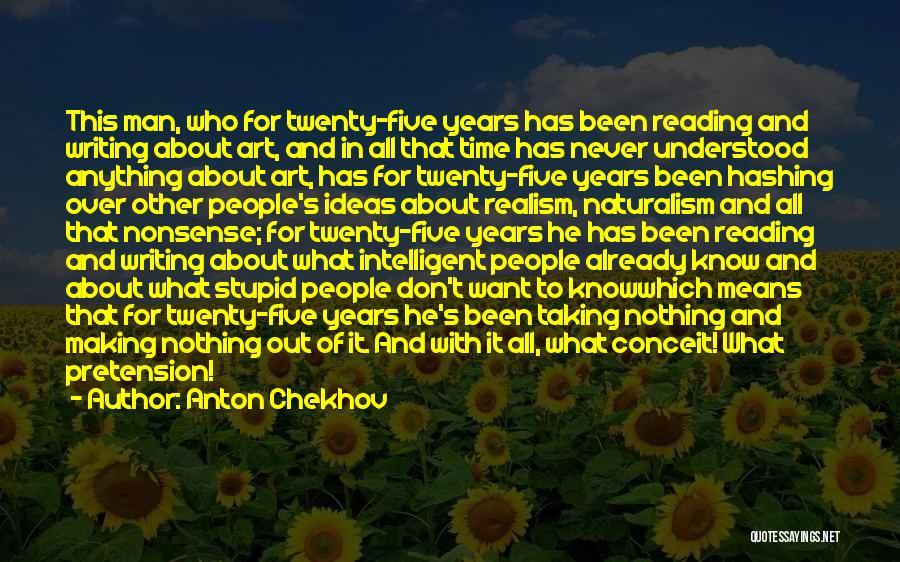 Reading For Teachers Quotes By Anton Chekhov