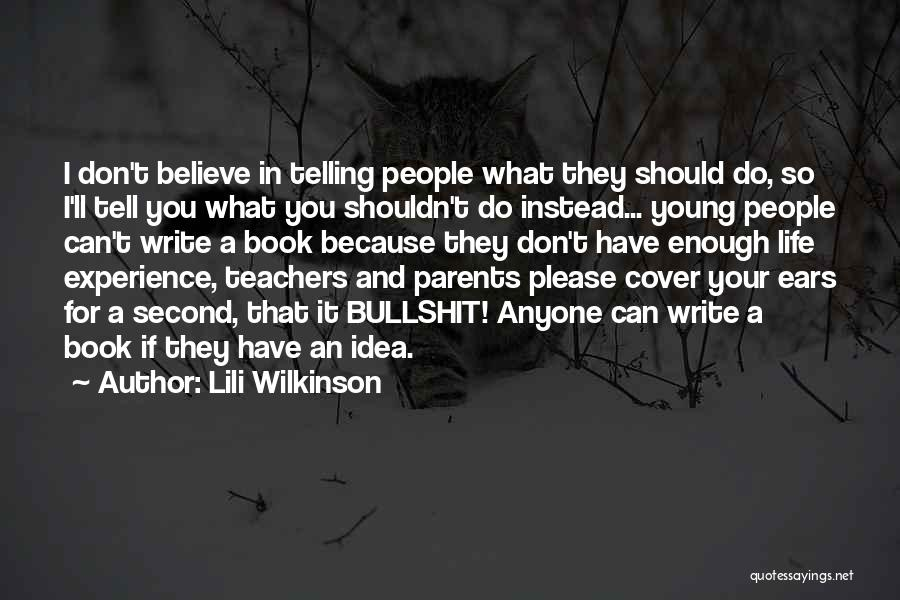 Reading For Teachers Quotes By Lili Wilkinson