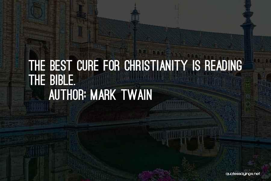 Reading Mark Twain Quotes By Mark Twain