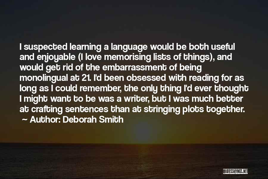 Reading Together Quotes By Deborah Smith