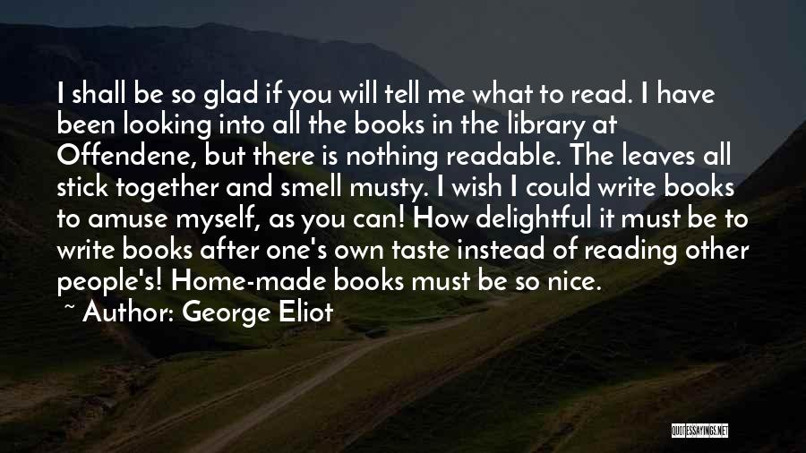 Reading Together Quotes By George Eliot