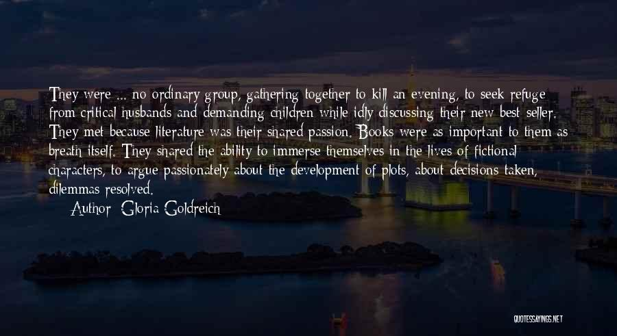 Reading Together Quotes By Gloria Goldreich