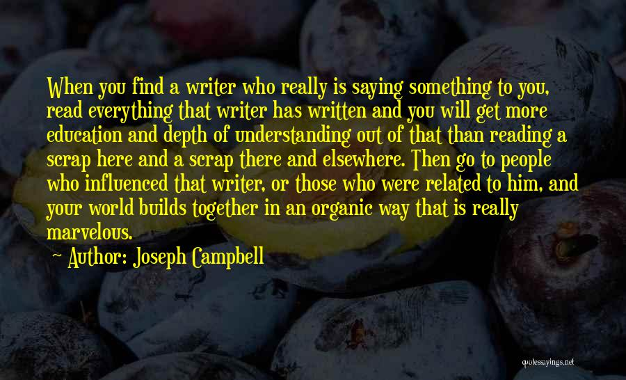 Reading Together Quotes By Joseph Campbell
