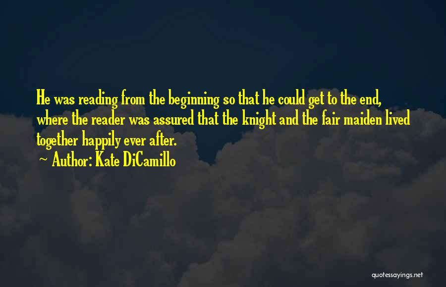 Reading Together Quotes By Kate DiCamillo