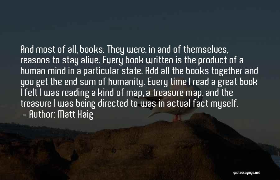 Reading Together Quotes By Matt Haig