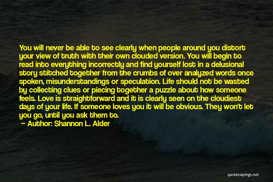 Reading Together Quotes By Shannon L. Alder