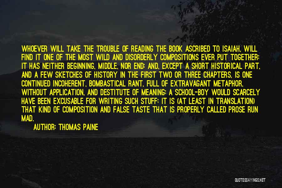 Reading Together Quotes By Thomas Paine