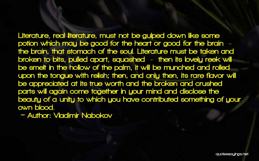Reading Together Quotes By Vladimir Nabokov