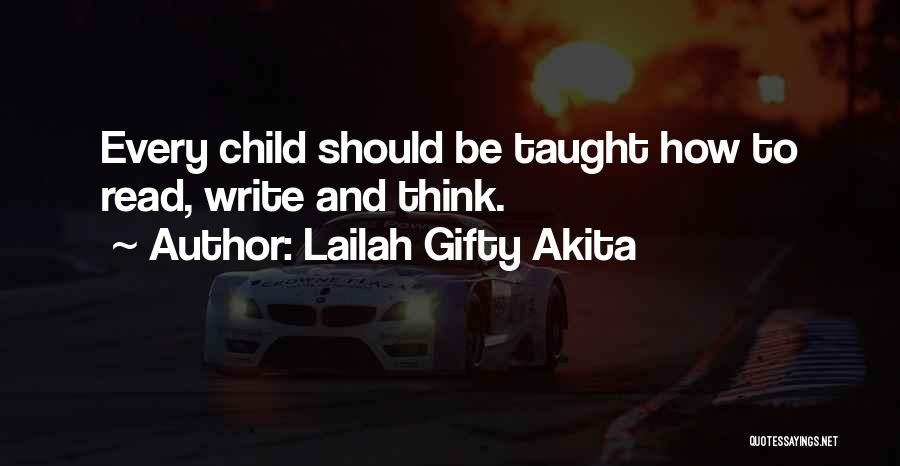 Reading Writing And Education Quotes By Lailah Gifty Akita