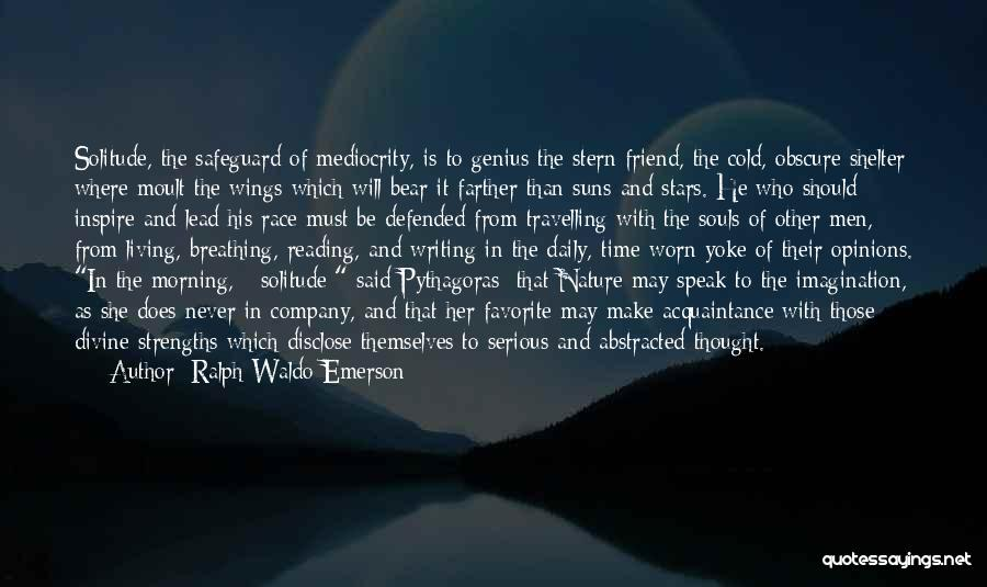Reading Writing And Education Quotes By Ralph Waldo Emerson