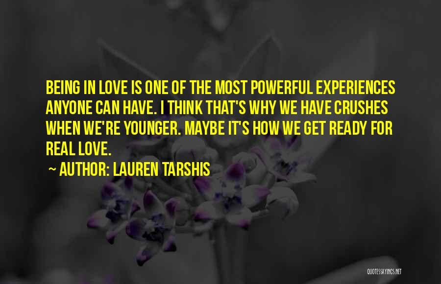Ready For Real Love Quotes By Lauren Tarshis