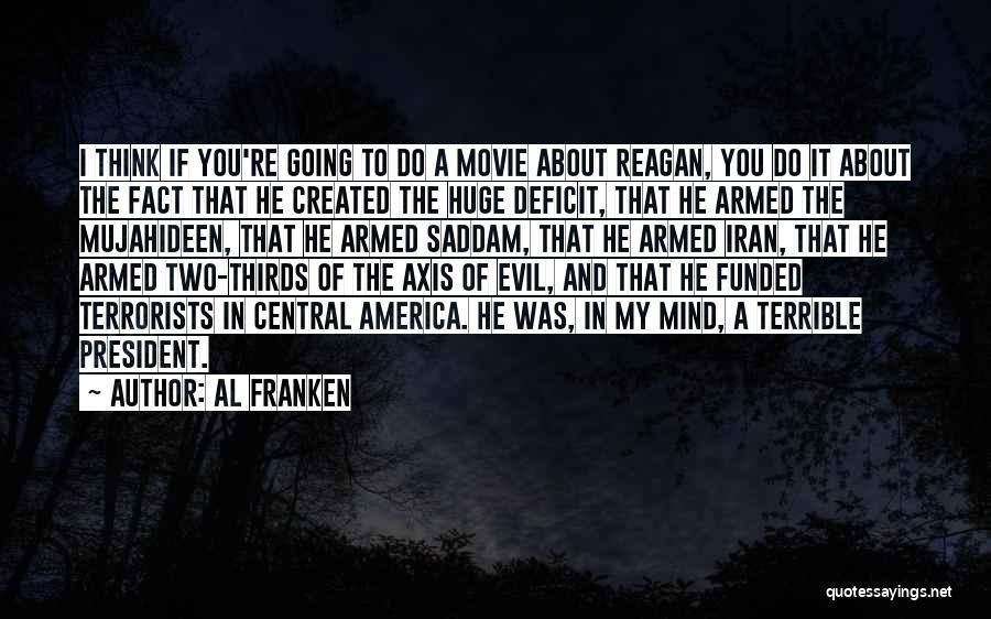 Reagan Deficit Quotes By Al Franken