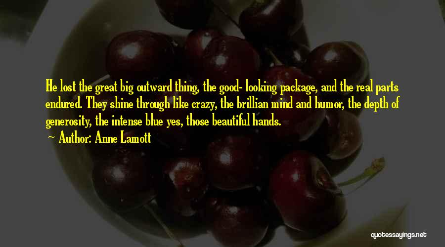 Real Beauty Quotes By Anne Lamott