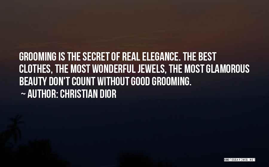 Real Beauty Quotes By Christian Dior