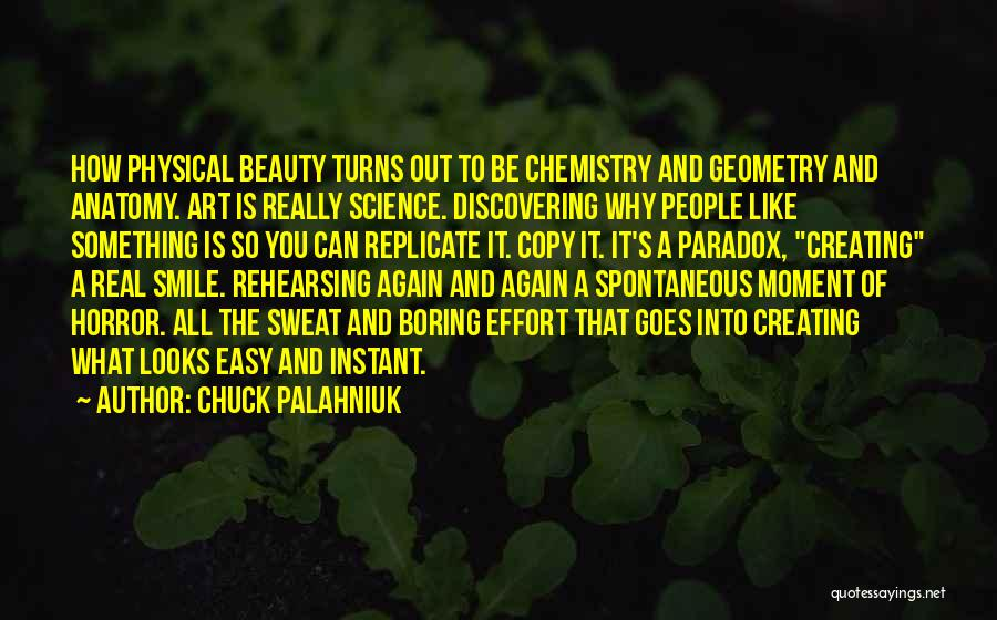 Real Beauty Quotes By Chuck Palahniuk