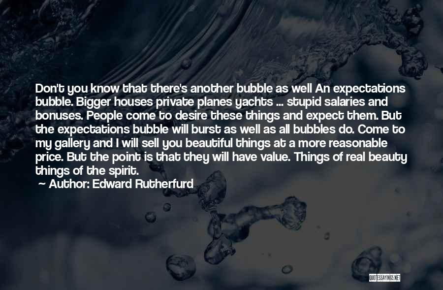 Real Beauty Quotes By Edward Rutherfurd