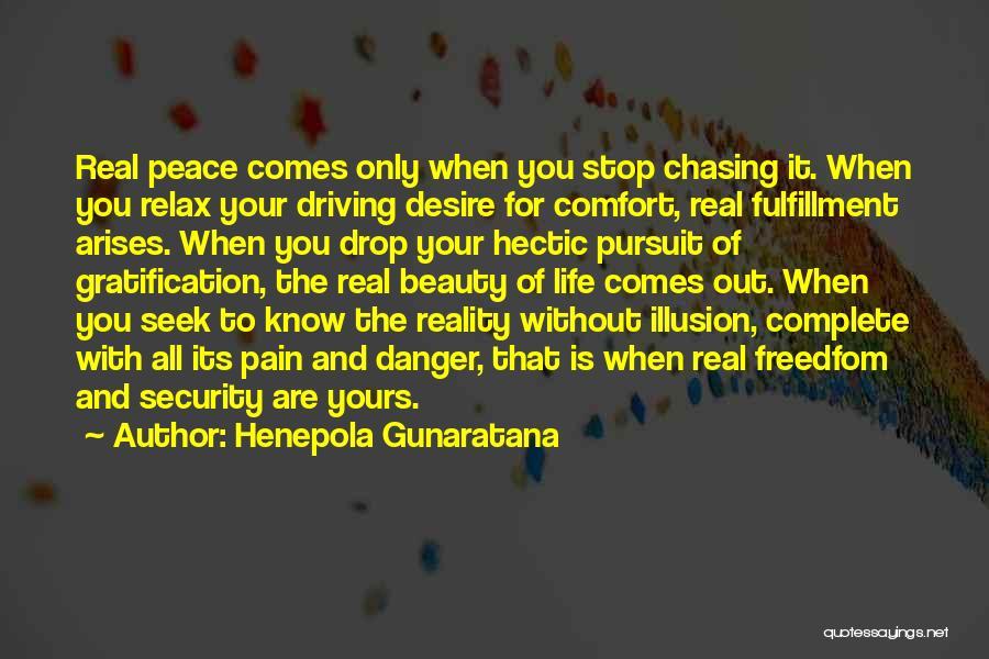 Real Beauty Quotes By Henepola Gunaratana