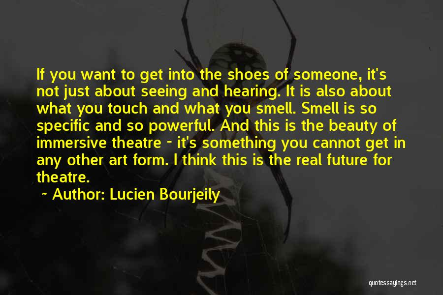 Real Beauty Quotes By Lucien Bourjeily