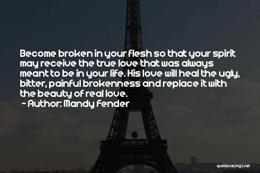 Real Beauty Quotes By Mandy Fender