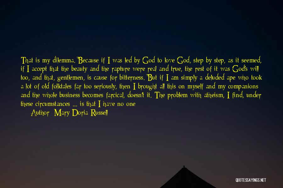 Real Beauty Quotes By Mary Doria Russell