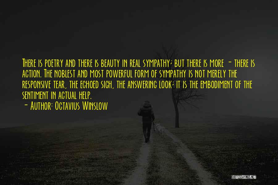Real Beauty Quotes By Octavius Winslow