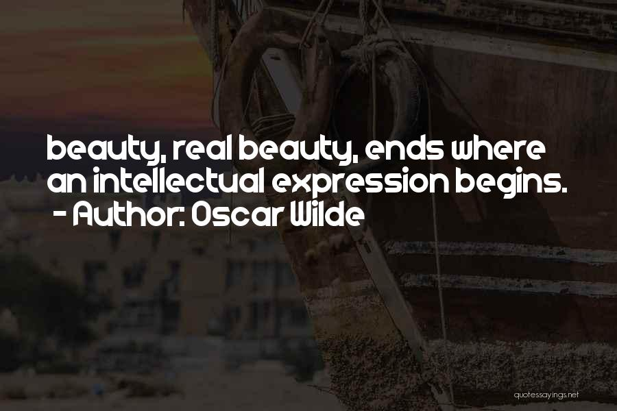 Real Beauty Quotes By Oscar Wilde
