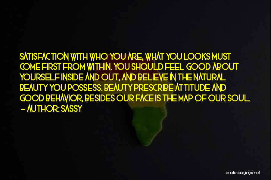 Real Beauty Quotes By Sassy