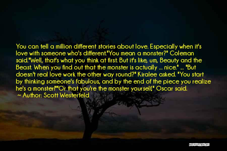 Real Beauty Quotes By Scott Westerfeld