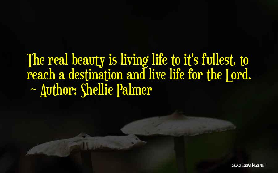 Real Beauty Quotes By Shellie Palmer