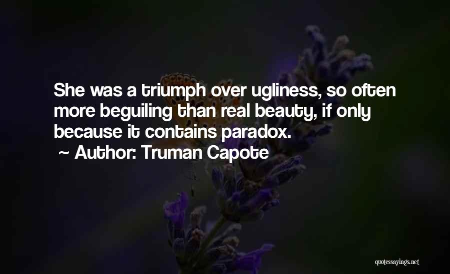 Real Beauty Quotes By Truman Capote
