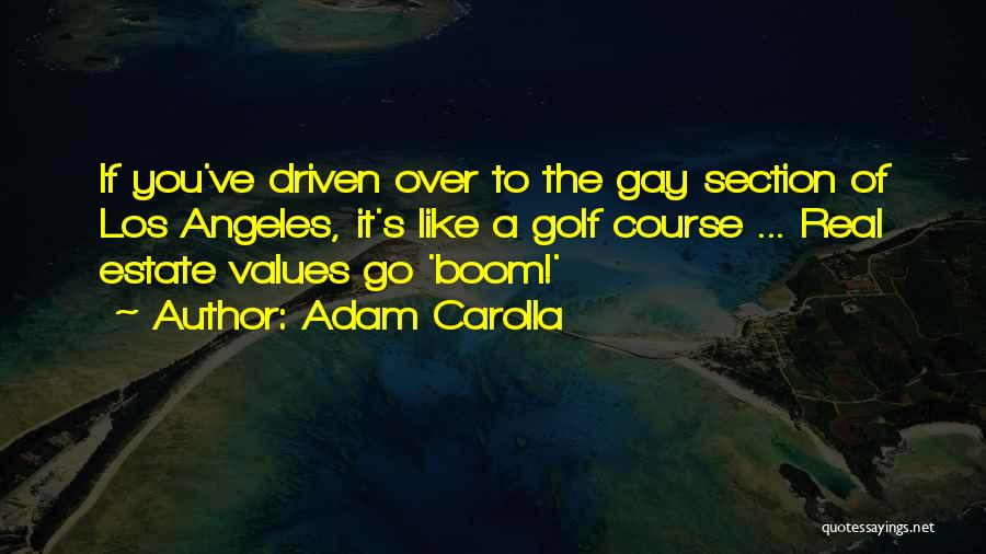 Real Estate Quotes By Adam Carolla