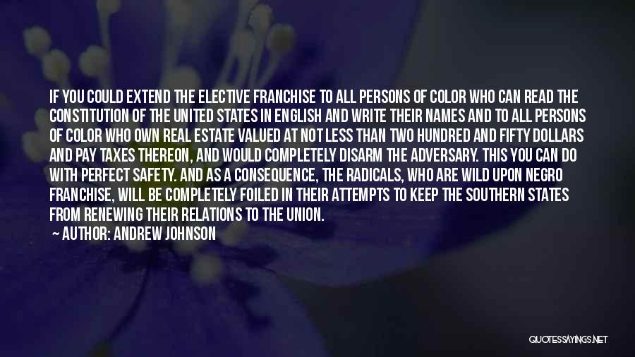 Real Estate Quotes By Andrew Johnson