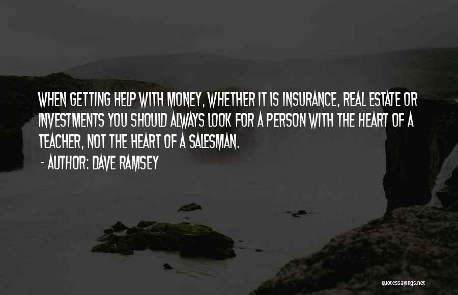 Real Estate Quotes By Dave Ramsey