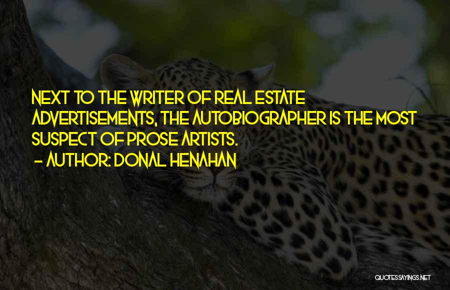 Real Estate Quotes By Donal Henahan